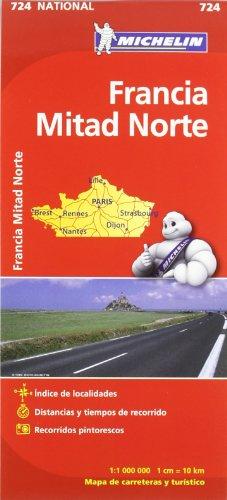 9782067171169: Mapa National Francia Norte (Mapas National Michelin)