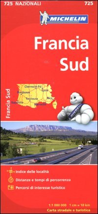 9782067171251: Francia sud 1:1.000.000