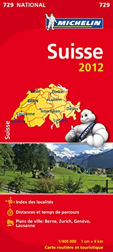 9782067171633: Carte NATIONAL Suisse 2012