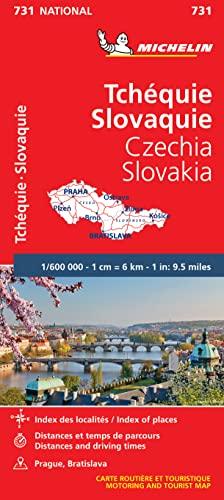 9782067171794: Carte NATIONAL Rpublique Tchque, Rpublique Slovaque