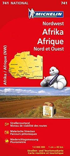 9782067172173: Michelin Nationalkarte Nordwest-Afrika 1 : 4 000 000