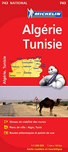 9782067172289: Carte NATIONAL Algrie, Tunisie