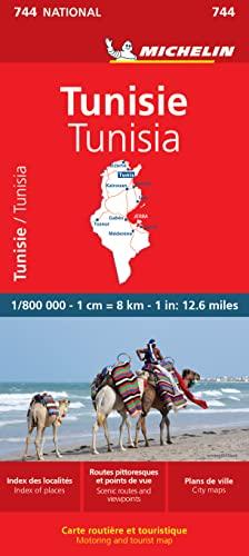 9782067172357: Carte NATIONAL Tunisie