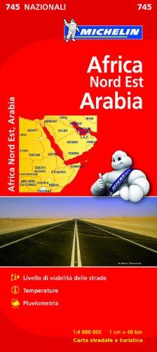 9782067172470: Africa Nord Est, Arabia 1:4.000.000
