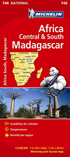 9782067172555: Africa Cental & South, Madagascar