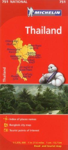 9782067172661: Michelin Thailand/ Thailande