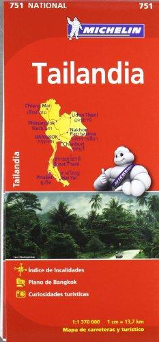 9782067172692: Mapa National Tailandia 751