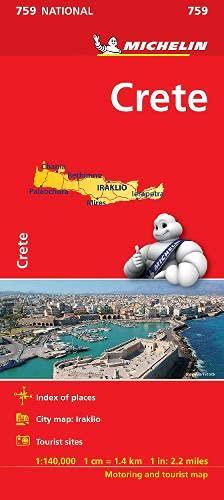9782067173255: Crete (Michelin National Maps)