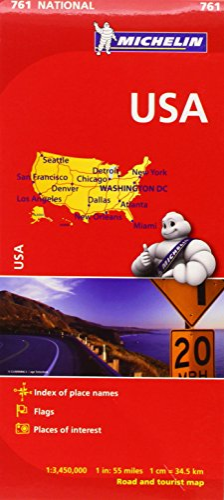 Michelin USA Road Map: Michelin