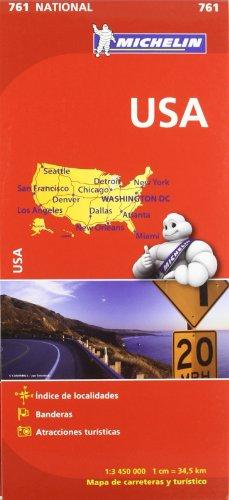 9782067173309: Mapa National U.S.A. (Mapas National Michelin)