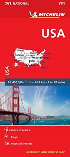 9782067173323: USA (Michelin National Maps)