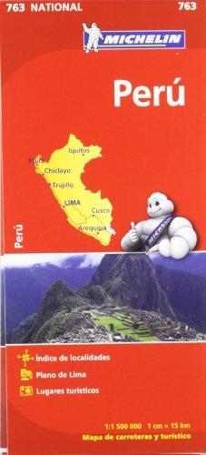 9782067173446: Perú. Mapa National 763