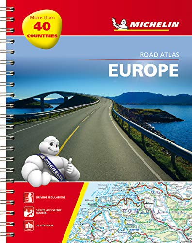 Michelin Road Atlas Europe (Atlas (Michelin)) (2067173685) by Michelin
