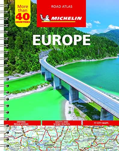 Michelin Road Atlas Europe (Atlas (Michelin)) (9782067173682) by Michelin
