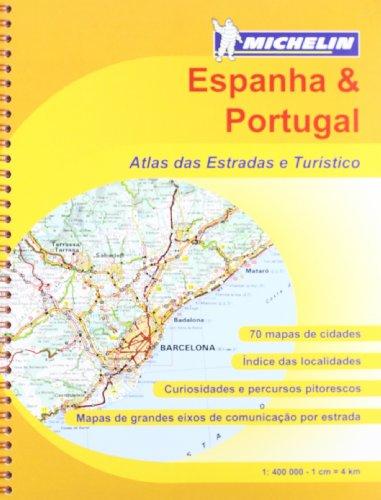9782067173736: Atlas Espanha & Portugal: Atlas das estradas e turístico (Atlas de carreteras Michelin)