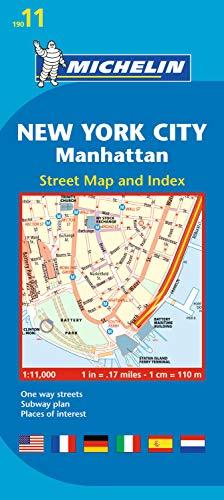 9782067173750: Plano New York City, Manhattan (Planos Michelin)