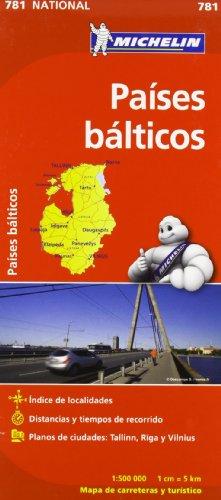 9782067173804: Mapa National Países Bálticos (Mapas National Michelin)