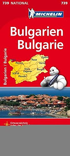 9782067174047: Bulgarien 1 : 700 000 Nationalkarte
