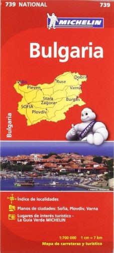 9782067174054: Bulgaria. Mapa national 739
