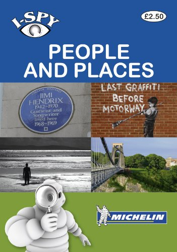 9782067174955: I-Spy People and Places (Michelin i-SPY Guides)