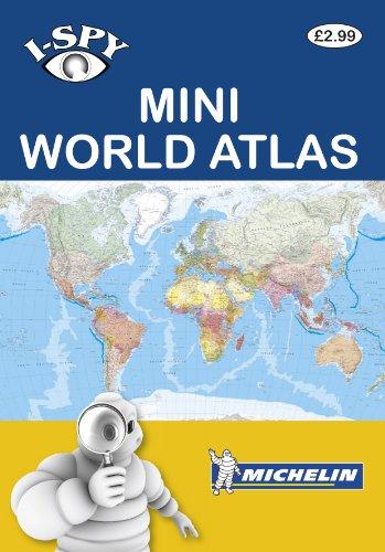 9782067174979: i-SPY Mini World Atlas (Michelin i-SPY Guides)