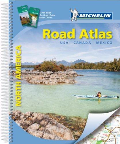 Road Atlas North America: Michelin