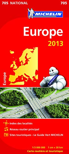 9782067180079: Carte NATIONALE Europe 2013 n°705