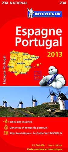 9782067180512: Carte NATIONALE Espagne Portugal 2013 n�734