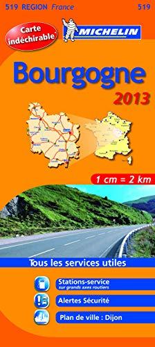 9782067181656: Michelin Tear-Resistant Map #519 Bourgogne