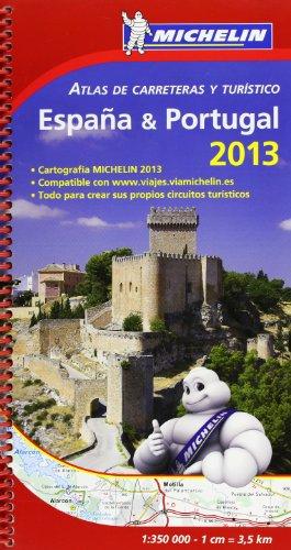 9782067182424: Atlas de carreteras y turístico España & Portugal 2013 (Atlas de carreteras Michelin)