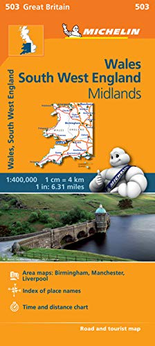 Wales, The Midlands, South West England Regional: Michelin