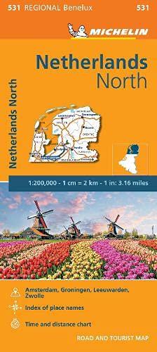 9782067183377: Mapa Regional Netherlands North (Carte regionali)
