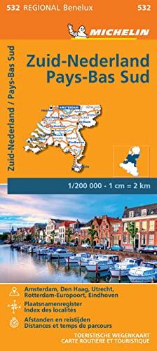 9782067183407: Carte Pays-Bas Sud Michelin