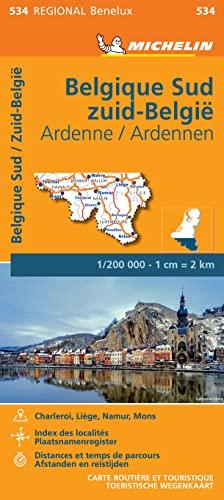 9782067183483: Cr 534 Belgique Sud & Zuid-Belgie, Ardenne Ardennen