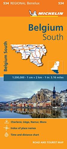 9782067183490: Belgique Sud, Ardenne / Zuid-Belgie, Ardennen (Michelin Regional Maps)