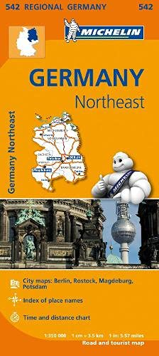 9782067183575: Mapa Regional Germany Northeast (Carte regionali)