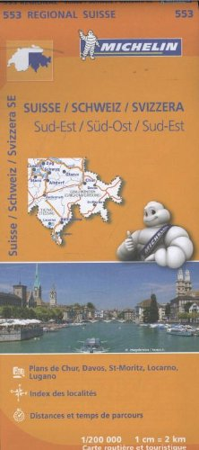 9782067183766: Carte Suisse Sud-Est Michelin