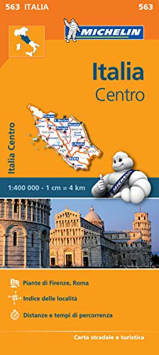 9782067184015: Italy Centre Regional Map 563 (Michelin Regional Maps)
