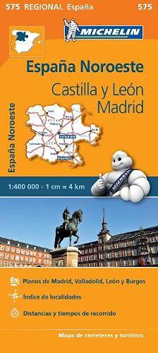 9782067184305: Castilla Y Leon, Madrid (Michelin Regional Maps)