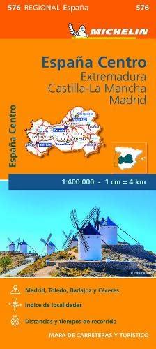 9782067184350: Mapa Regional Extremadura, Castilla la Mancha, Madrid (Carte regionali)