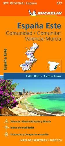 Comunidad Valenciana, Murcia - Michelin Regional Map: Michelin