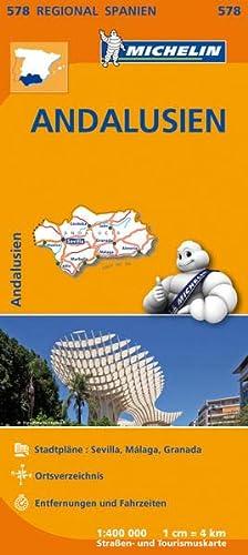 9782067184442: Michelin Regionalkarte Andalusien 1 : 400 000