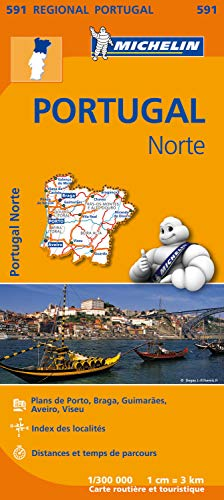 9782067184725: Carte Portugal Nord Michelin