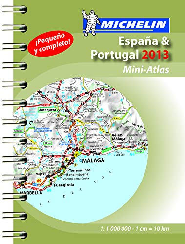 9782067184787: Mini Atlas Spain & Portugal 2013 (Michelin Tourist and Motoring Atlases)