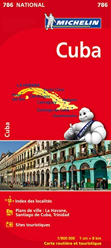9782067185531: Map - Carte Nationale Cuba 786 ; 1/800,000 (French Edition)