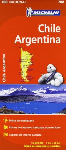 9782067185630: Mapa National Chile - Argentina (Mapas National Michelin)