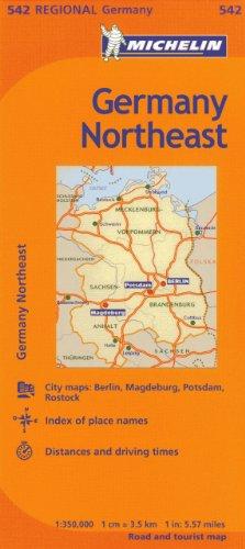 9782067186118: Michelin Germany Northeast Regional (Michelin Maps)