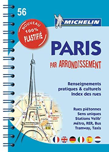 9782067186330: Plan de Paris par arrondissement 100% Plastifié (French Edition)
