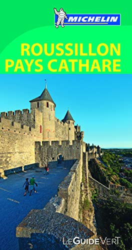 9782067186354: Guide Vert - ROUSSILLON PAYS CATHARE (GUIDES VERTS/GROEN MICHELIN)