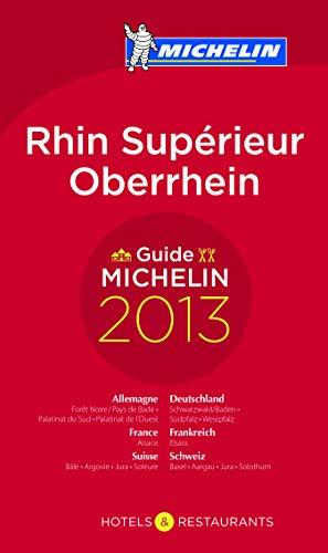 9782067187443: Guide Michelin Rhin Superieur Oberrhein